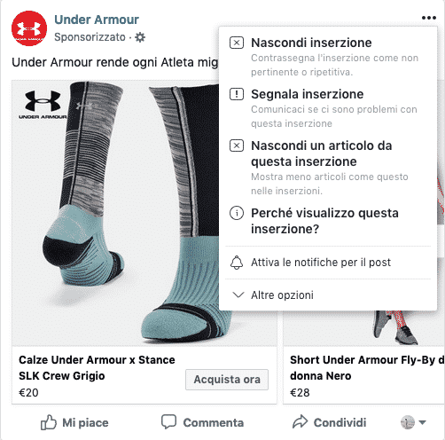 Cosa vedo nel newsfeed di Facebook? 2