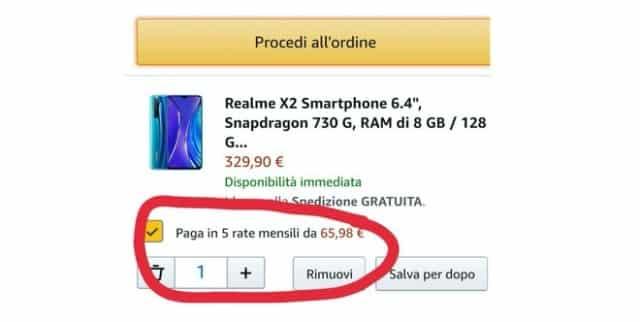 Amazon sperimenta in Italia il pagamento a rate 1