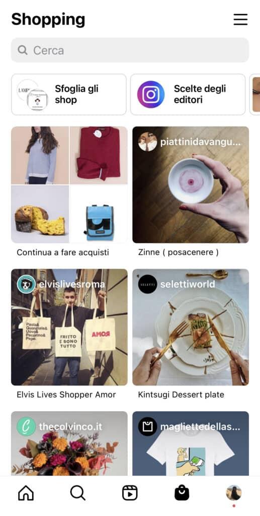 Cambiano i pulsanti di Instagram: sempre più spazio allo shop 4