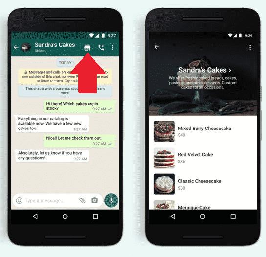 WhatsApp Shopping: il tasto arriva nelle chat 1